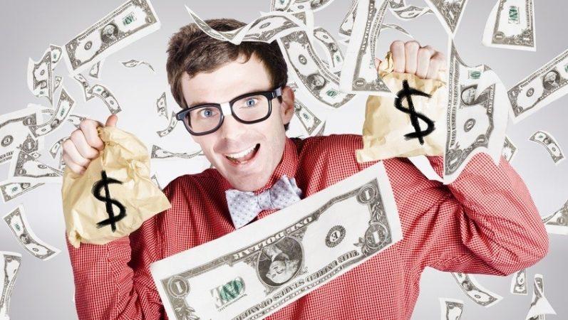 човек, пари, печалба