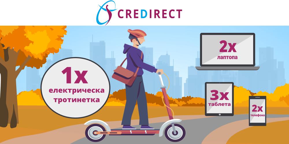 Есента наближава, а CreDirect награди раздава!