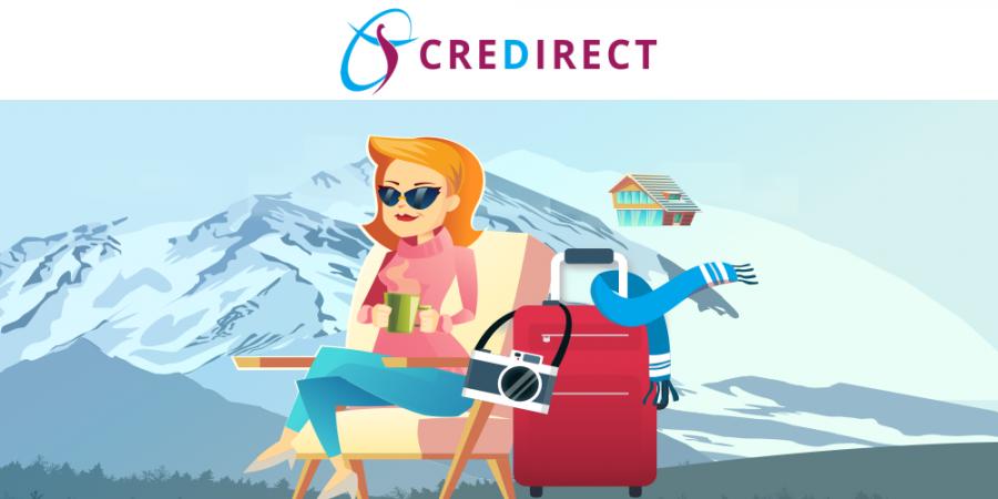 Релаксирай през зимата с CreDirect!