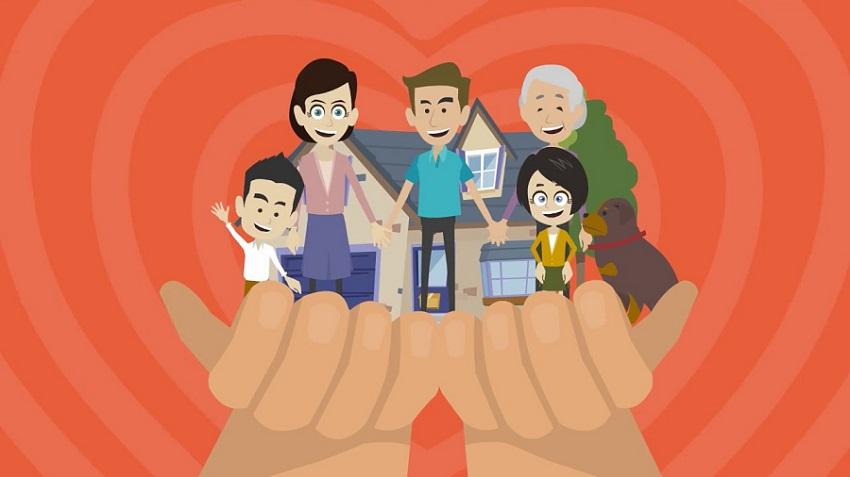 Застраховане, семейство